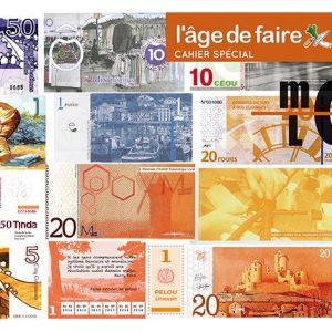 Cahier spécial monnaies locales - 10 exemplaires
