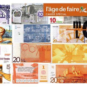 Cahier spécial monnaies locales - 500 exemplaires