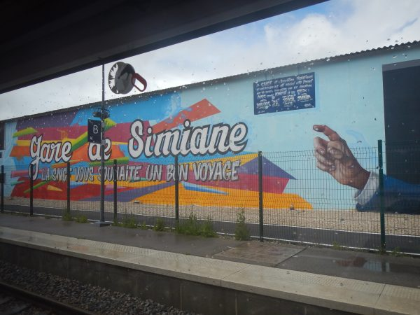 Gare sncf de Simiane-la-Rotombe