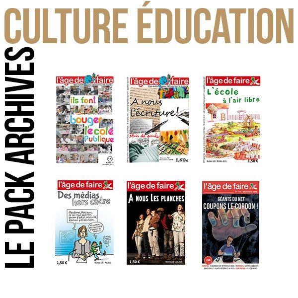 Pack archives - Culture et éducation